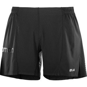 Salomon S/Lab 6 - Vêtement course à pied Homme - noir L Pantalons course à pied