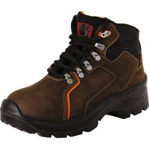Baudou Chaussure de sécurité haute marron - Mérida - Pointure 45
