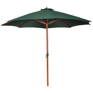VidaXL 40436 - Parasol sur pied toile Ø 258 cm