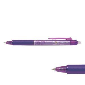 Pilot BLRT-FR5-V - Stylo roller FriXion Ball Clicker 05, pointe 0,5 mm, encre violette