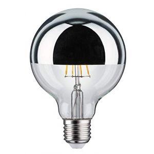 Globe 95mm calotte argent filament LED 5W E27 PAULMANN