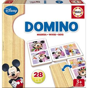 Educa Domino Mickey et Minnie