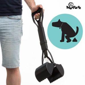 My Pet Ez MY PET Pelle à excréments Pet Picker pour jardin - En forme de pince