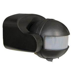 Tibelec Détecteur de mouvement infrarouge noir