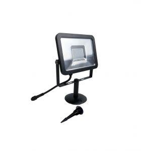 Easy Connect Projecteur à piquer flood garden (alu + plastique) blanc chaud 3000K 30W 3000LM - 65928