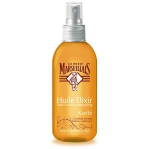 Le Petit Marseillais Huile Elixir - Soin avant-shampooing Karité