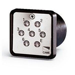 Came Clavier A Code A Encastrer S 6000 Modèle:S6000 Pose:Encastrer