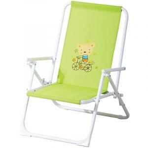 Ozalide Fauteuil de jardin relax enfant Piccolo - Vert anis