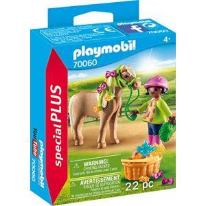 Playmobil Cavalière avec poney Special Plus 70060