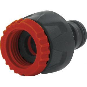 Cap Vert Nez de robinet avec réducteur - Filetage 15 x 21 - 20 x 27