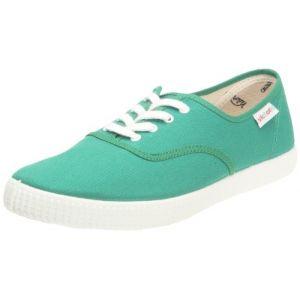 Victoria Inglesa Bicolor, Baskets mode mixte adulte - Vert (Verde), 35 EU