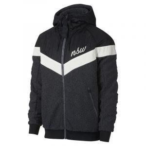 Nike Veste Sportswear NSW Sherpa Windrunner pour Homme - Noir - Couleur Noir - Taille XS