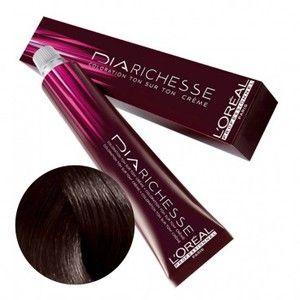 L'Oréal Coloration Dia Richesse 5.12 Châtain clair cendré irisé