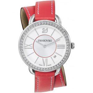Swarovski 5095942 - Montre pour femme avec bracelet en cuir