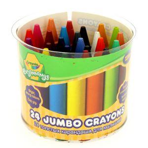 Crayola 24 maxi crayons à la cire Jumbo Mini Kids