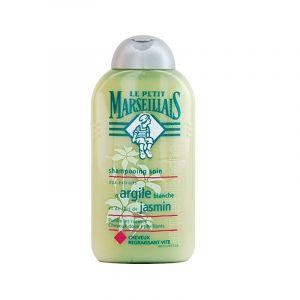 Le Petit Marseillais Purifiant Douceur - Shampoing aux extraits d'Argile blanche et lait de Jasmin