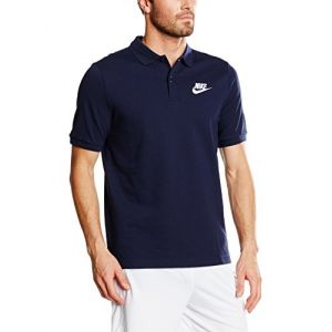 Nike Matchup Polo à Manches Courtes Homme, Obsidian/Blanc, FR : XL (Taille Fabricant : XL)