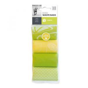 M pets Dog Waste Bag - Recharge ramasse crottes pour chien 8 x 15 pièces senteur citron