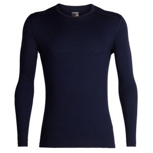 Icebreaker Vêtements intérieurs 200 Oasis L/s Crewe - Midnight Navy - Taille XXL