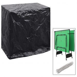 VidaXL Housse de mobilier de jardin Table de ping-pong 160x55x182 cm