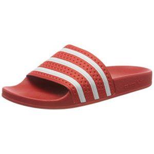 Adidas Adilette, Tongs Homme - Rouge