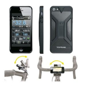 Topeak Ridecase Support Vélo Pour Apple Iphone 5 & 5s - Noir -