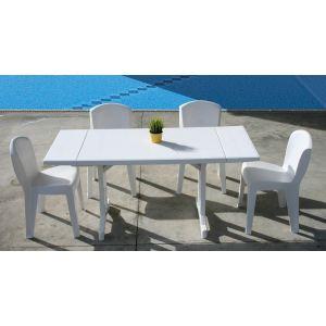 Evolutif Table de jardin rectangulaire Perfecta en ...