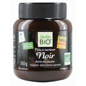 Jardin Bio Pâte à tartiner noir forte en cacao (350g)