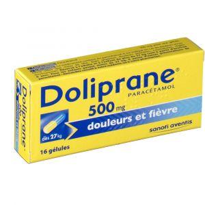 Sanofi Doliprane 500 mg - 16 gélules