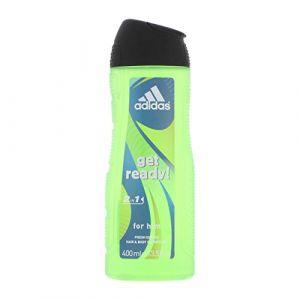 Adidas Get Ready Body Hair Face Citrus Extract - Gel douche