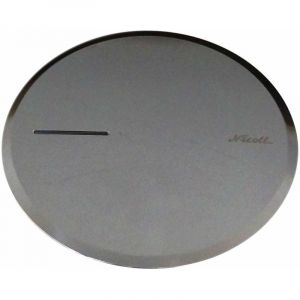 Nicoll Capot métal chromé pour bonde de douche Turboflow 90 mm TB2