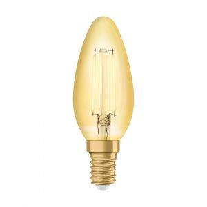Osram Vintage 1906 LED E14 B35 4.5W 825 Dorée | Substitut 36W
