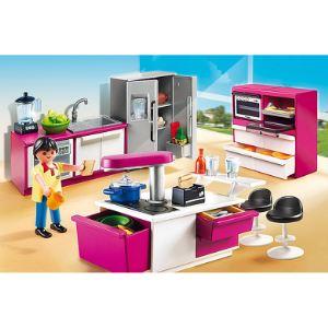Playmobil 5582 City Life - Cuisine avec îlot