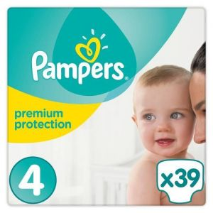 Pampers Premium Protection taille 4 (8-16 kg) - 39 couches