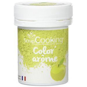 Scrapcooking Color'arôme vert / pomme 10g