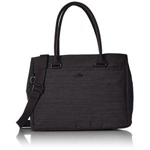 Kipling Artego, Sacs pour ordinateur portable femme, Schwarz (Dazz Black), One Size
