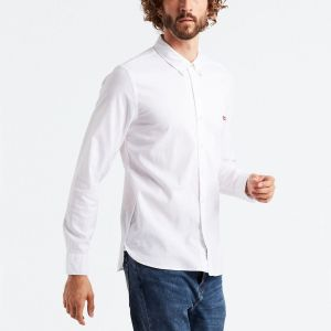 Levi's Long Sleeve Housemark Shirt white