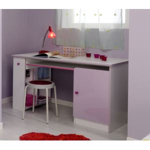 bureau enfant lilas 2 comparer avec. Black Bedroom Furniture Sets. Home Design Ideas