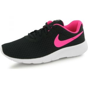 Nike Tanjun (GS), Baskets Fille, Noir (Black/Hyper Pink-White), 38.5 EU