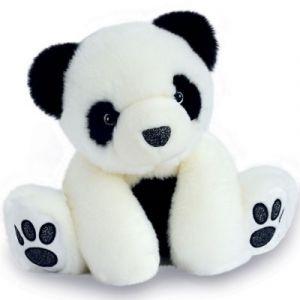 Histoire d'ours Peluche panda So Chic blanc (17 cm)