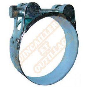 Serflex Collier bande pleine renforcé à tourillons Ø48 à 51mm