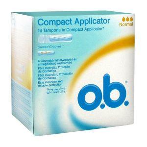 o.b. Pro Comfort - 16 tampons hygiéniques Normal avec applicateur
