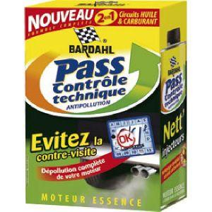 Bardahl Pass'Contrôle Technique Antipollution Essence