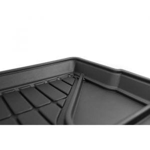 DBS Tapis de Coffre sur Mesure Caoutchouc 3D pour Seat Ateca des 2016 - Matière : caoutchouc TPE - Zones de rangement latérales - Nettoyage facile - Installation rapide