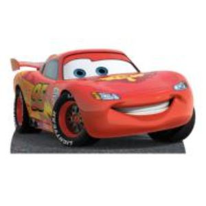 Figurine en carton taille réelle Disney Cars Flash McQueen