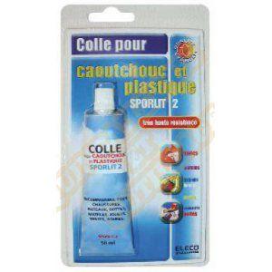 Cyanolit Colle spéciale caoutchouc et plastiques 50 ml