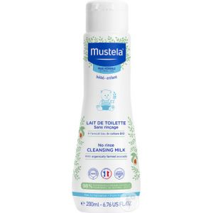 Mustela Lait de Toilette sans Rinçage - 200 ml
