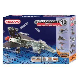 Meccano 6026717 - Opération aérienne 10 modèles