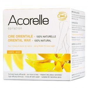 Acorelle Epilation - Cire orientale 100% naturelle