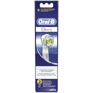 Oral-B EB18-2 3D White - 2 brossettes supplémentaires